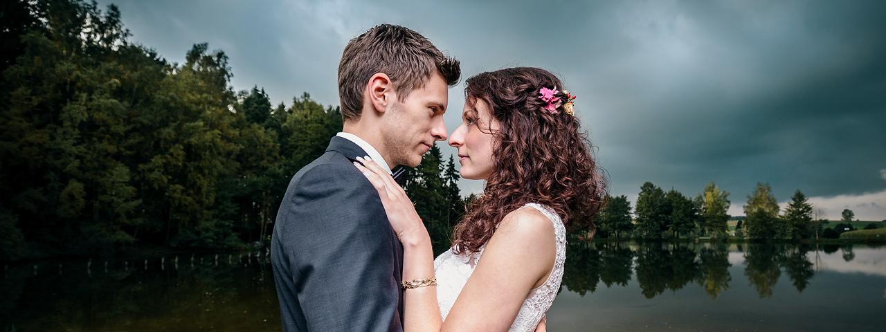 Hochzeitsfotos Mühlteich Irfersgruen Heinsdorfergrund