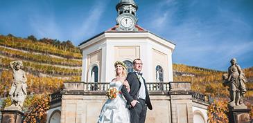 Traumhochzeit auf Hochzeit Schloss Wackerbarth Radebeul Dresden
